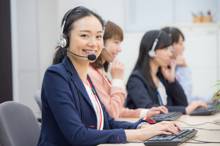 電話転送を使用したコールセンターの構築