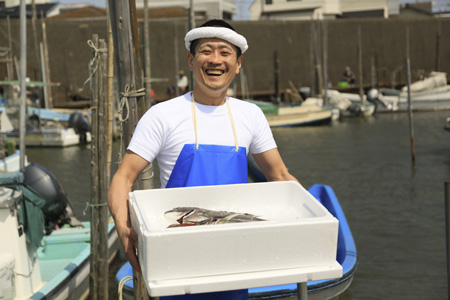 漁師、海産物の小売